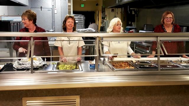 Lasagna Dinner service 11-15